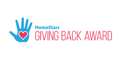 Homestars - Giving Back Award