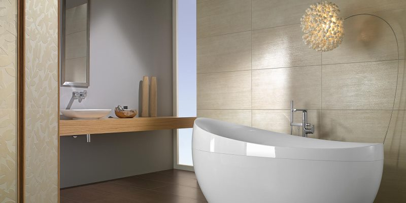A Bathtub is quintessential for a Spa-like Experience in the Bathroom